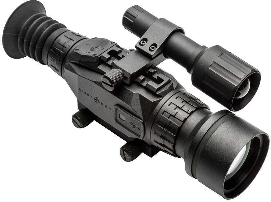 Sightmark Wraith HD 4-32x50 Day or Night Vision Riflescope Black Finish Multiple Reticles Removable IR Illuminator Fits