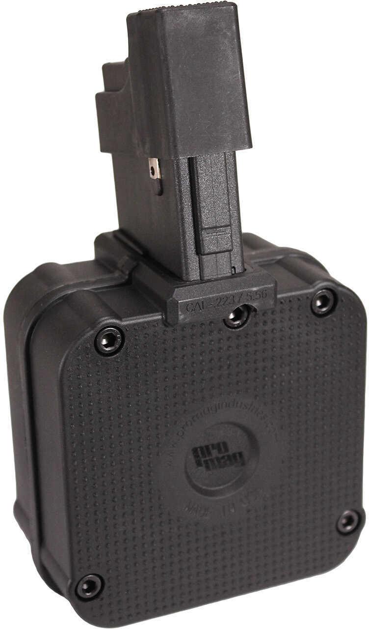 ProMag AR-15, 5.56mm 65 Round Drum, Polymer, Black