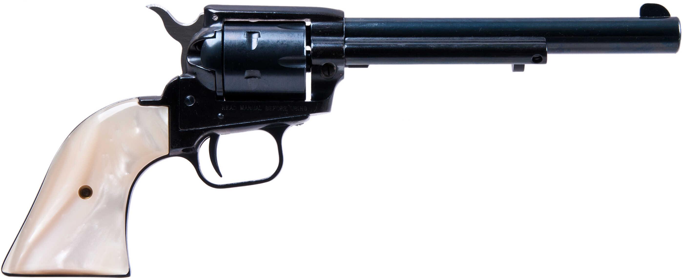 "Heritage Rough Rider Revolver SAA 22 Long Rifle/ 22 Mag 6.5"" Barrel Pearl Grip RR22MB6PRL"