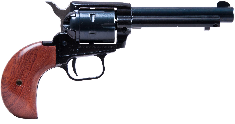 "Heritage Rough Rider Revolver SAA 22 Long Rifle /Mag 4.75"" Barrel Bird Head Wood Grip RR22MB4BH"