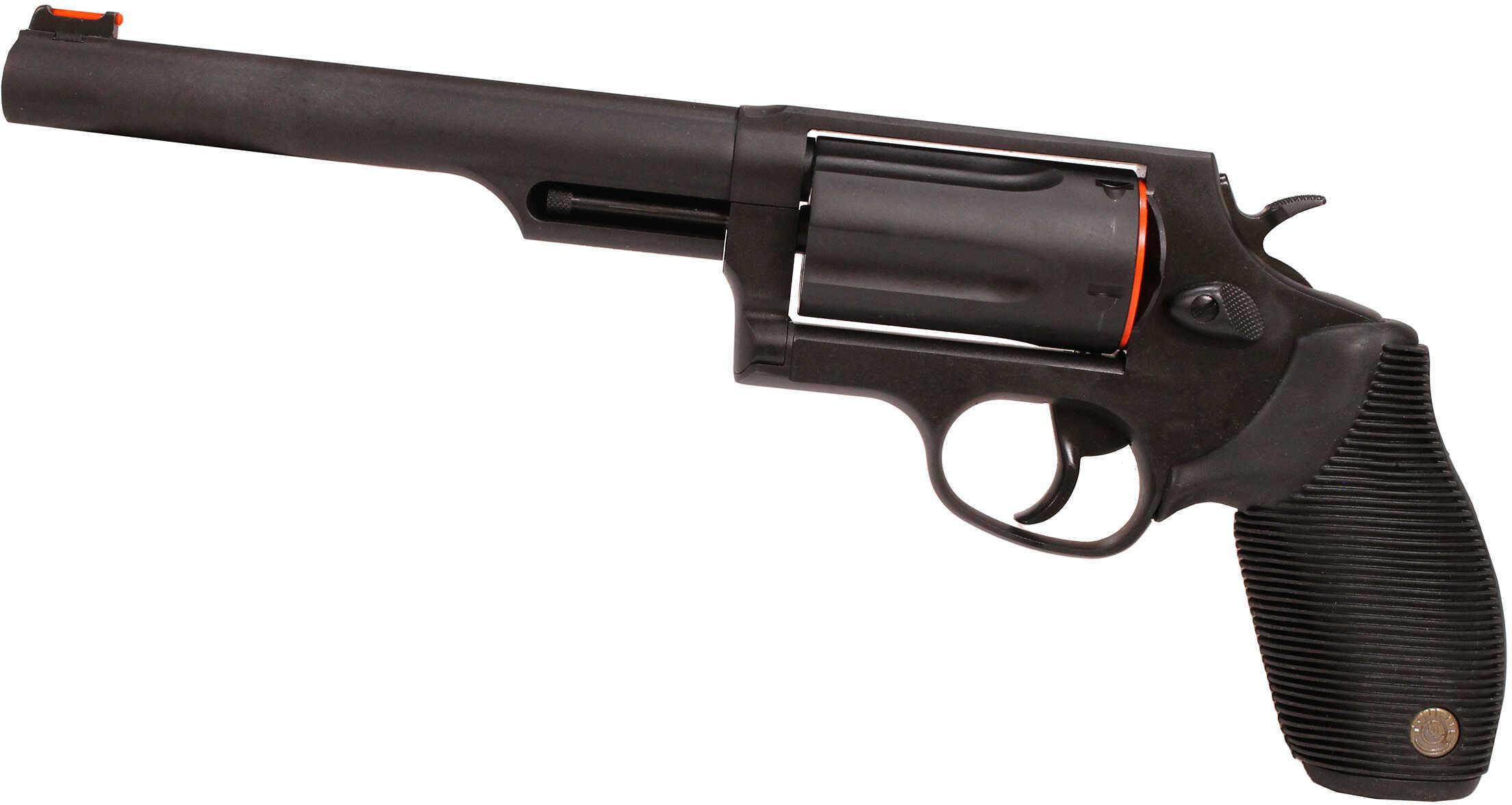 "Taurus Model 45-410 Judge 410 Gauge /45 Long Colt 6.5"" Barrel 5 Round Blued Tracker Revolver 2441061T"
