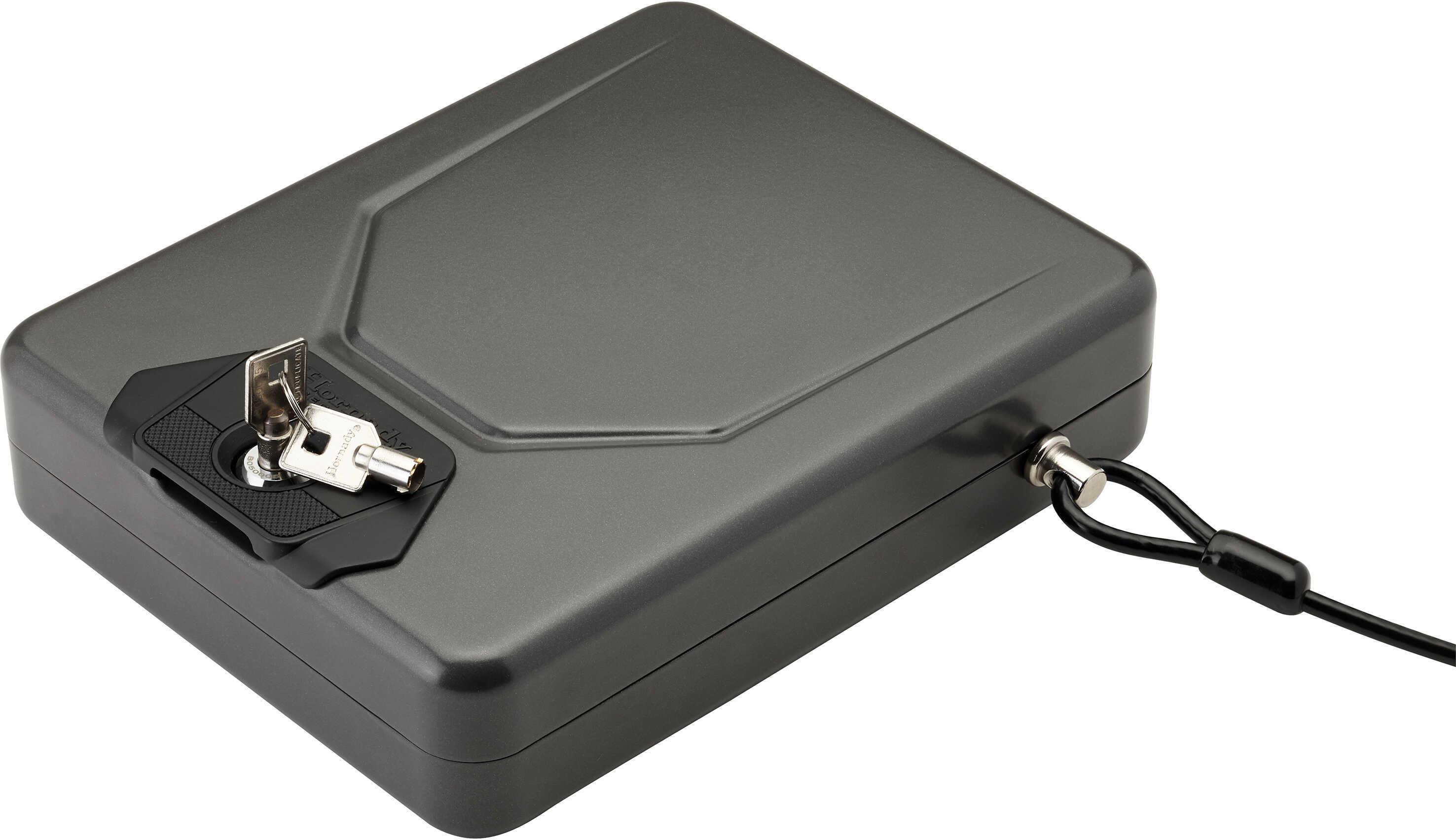 Hornady 98153 Alpha Elite Lock Box Key 16 Gauge Steel Black