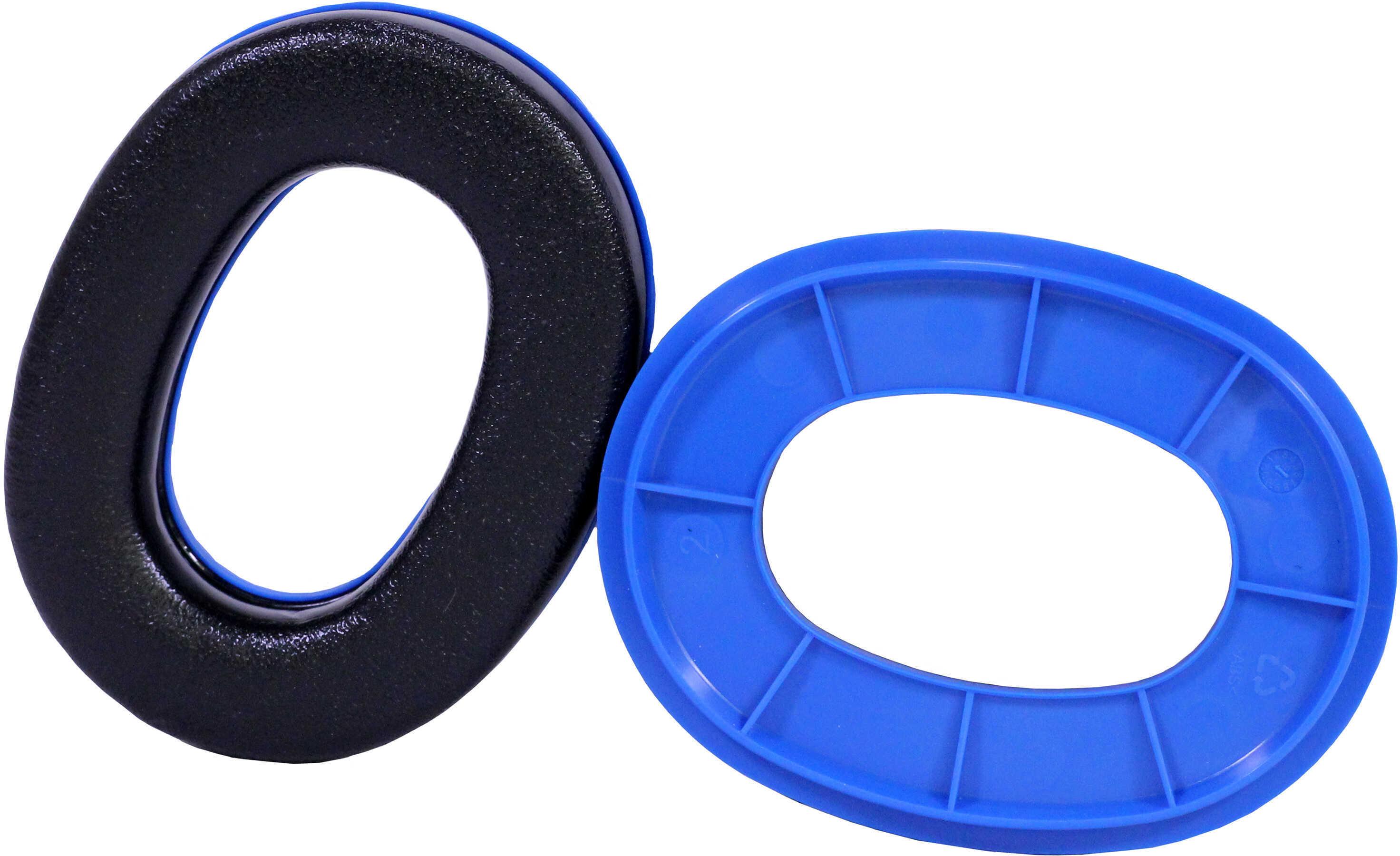 Peltor Sport Ear Cushion Custom Ring Set Blue, 2 Pack Md: EC-PEL-BLU-6C
