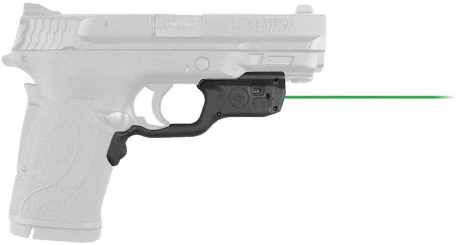 Crimson Trace Laserguard Smith & Wesson M&P .380, Green Laser, Black