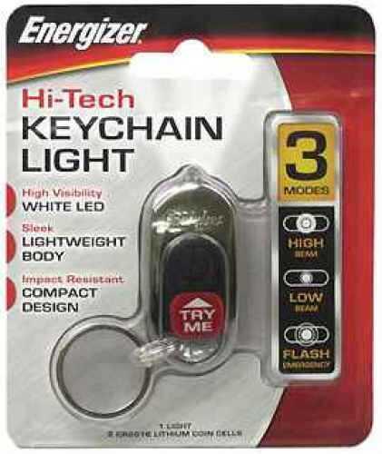 Energizer LED High Tech Keychain Light HTKC2BUBP