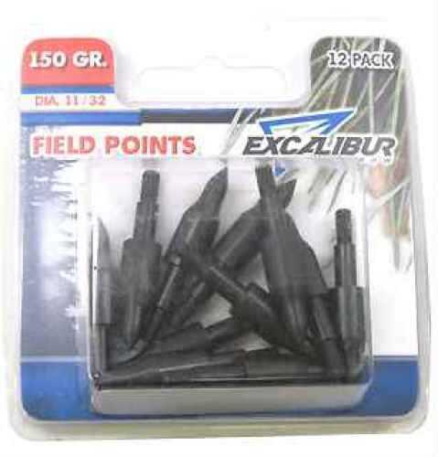 """Excalibur Field Points, 11/32"""", 12 Pack 150 Grain TP150-12"""