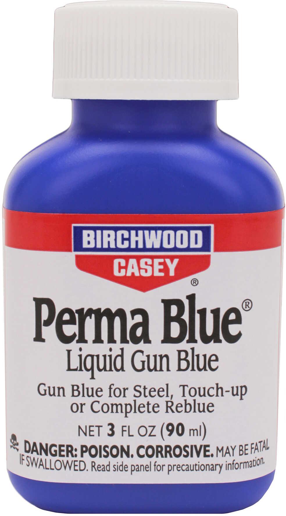 Birchwood Casey Perma Blue Liquid Gun Blue, 3oz 13125