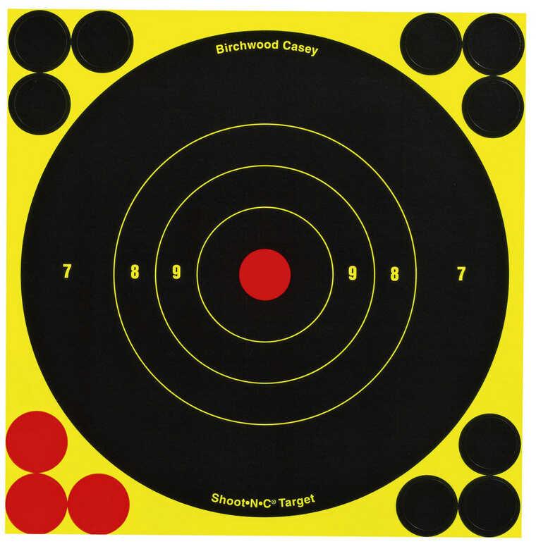 "Birchwood Casey Shoot-N-C Targets: Bull's-Eye 5.5"" Round Target (Per 60) 34550"