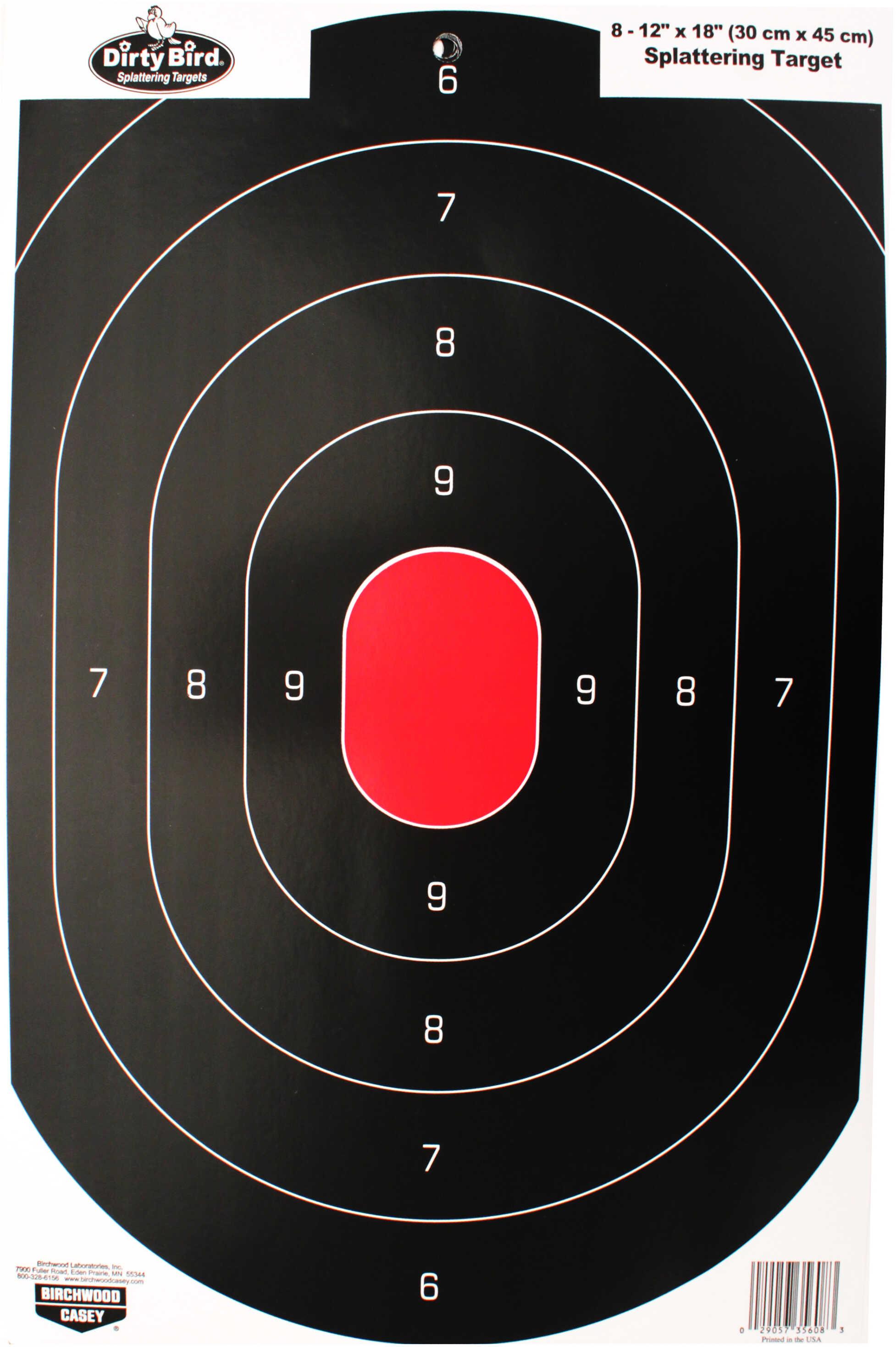 "Birchwood Casey Shoot-N-C Targets: Silhouette 12""x18"" Silhouette Target 35608"