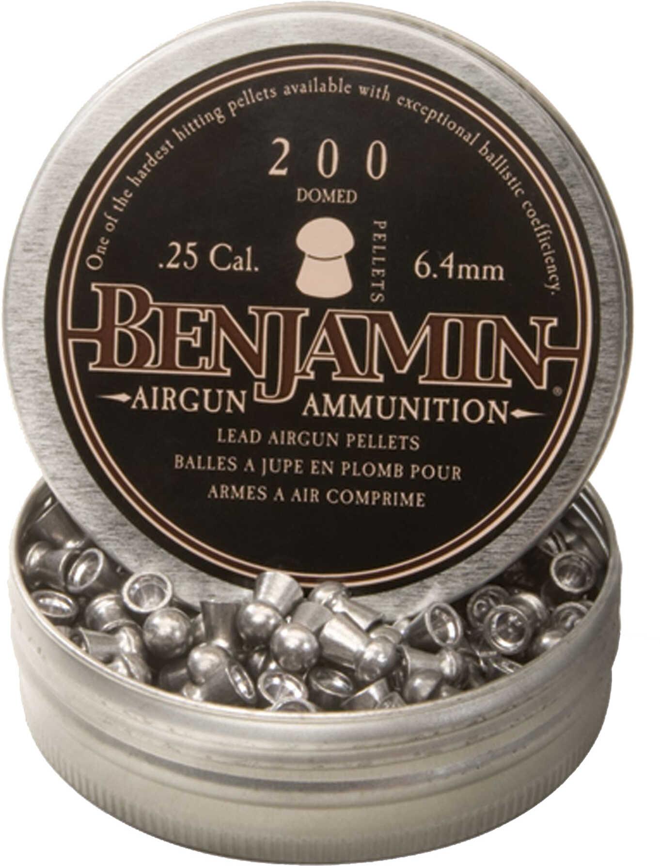 Benjamin Sheridan Pellets 25 Caliber DOMED Premier 200CT BD225