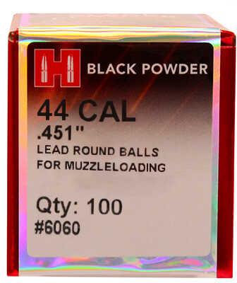 Hornady Lead Balls .451 (44 Caliber) Per 100 6060