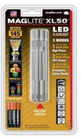 Maglite XL50 LED Light Display Box Silver XL50-S3107