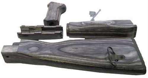 Tapco, Inc  Stock Black Handguard, Pistol Grip & Stock Laminate AK Tim06000  Black Laminate