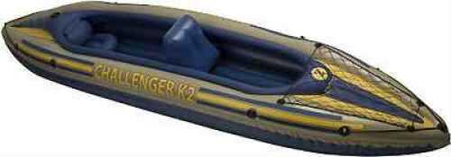 Intex Challenger Kayak Kit K2, 2 Person, Gear Net 68306E