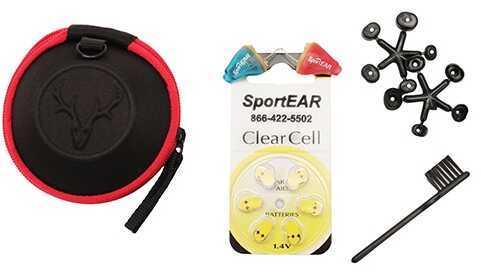 SportEar Select-A-Fit 30, Pair, 1 Red/1 Blue S30PR