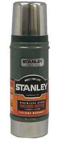 Stanley Vacuum Bottle 0.5 Quart, Hammertone Green 10-01228-003