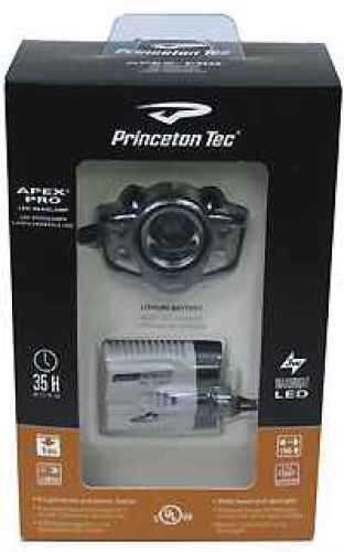Princeton Tec LED Headlamp Apex Pro, Black, LED 200 Lumens APXC-PRO-BK