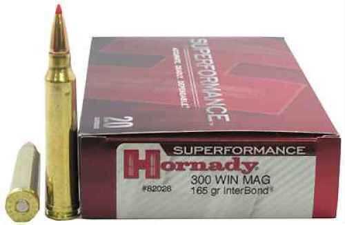 Hornady 300 Winchester Magnum by 165gr Interbond Superformance /20 82028
