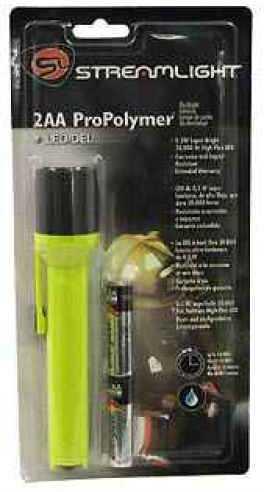 Streamlight 2AA Pro Polymer Flashlight Yellow 67101