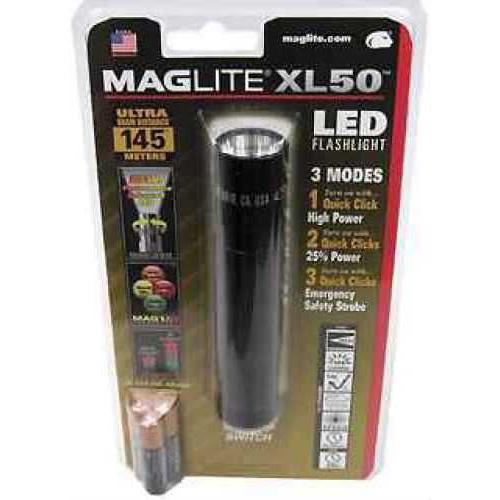 Maglite XL50 LED Light Black XL50-S3016