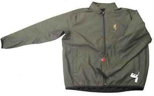 Browning Softshell Add Heat Jacket Olive, X-Large 3048804204