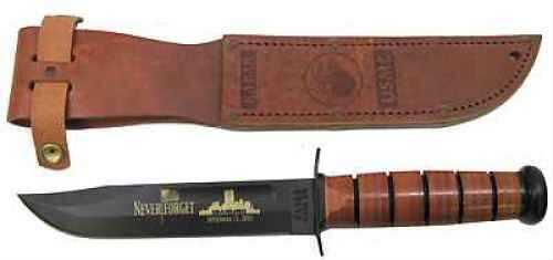 Ka-Bar Commemorative Knife USMC 9/11, Leather Sheath 2-9165-4