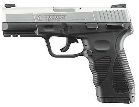 "Taurus PT 24/7-G2 40 S&W Standard 4.2"" Barrel 15 + 1 Rounds Stainless Steel Semi-Auto Pistol 1247409G215"