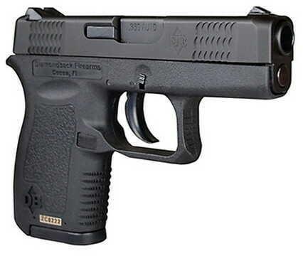 "Diamondback Firearms 380 ACP 2.8"" Barrel 6+1 Rounds Black Slide/Black Frame Semi Automatic Pistol DB380"