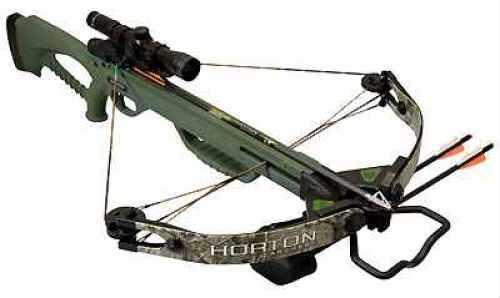 Horton Brotherhood, 160#/Green Stock/RealTree/APG/Camo/4x32 CB300