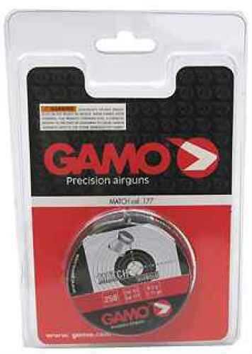 Gamo Match Pellets Flat Nose, .177/250 6320024CP54