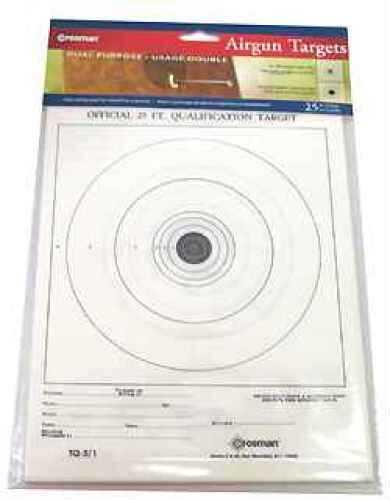 Crosman Official Airgun Target Pack /25 0486