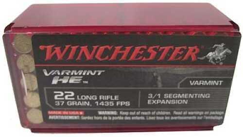 Winchester 22LR HP Varmint HE /50 S22LRFSP