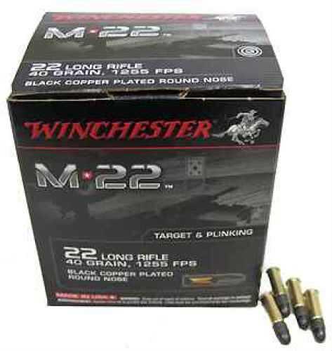 Winchester 22 Long Rifle 40 Gr, M22, Bulk Pack/1000 S22LRT