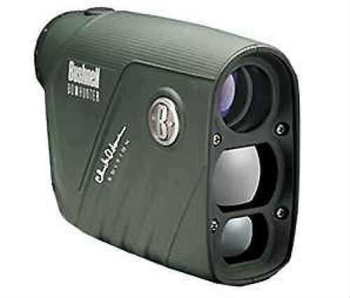 Bushnell Chuck Adams Bowhunter Rangefinder, 4x20mm, Green, Vertical Confg., Bow Mode 202206