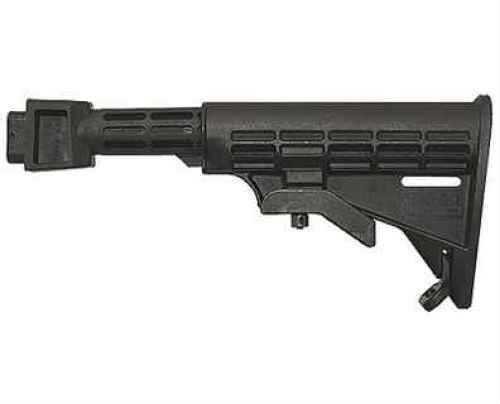 Tapco AK Intrafuse T6 Milled Receiver Stock Black STK06161-BK