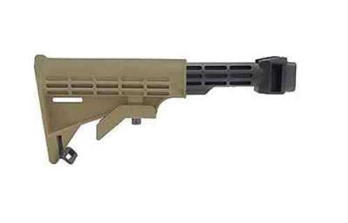 Tapco AK Intrafuse T6 Milled Receiver Stock Dark Earth STK06161-DE