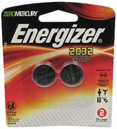 Energizer Lithium Coin #2032 3Volt (2-pack) 2032BP-2