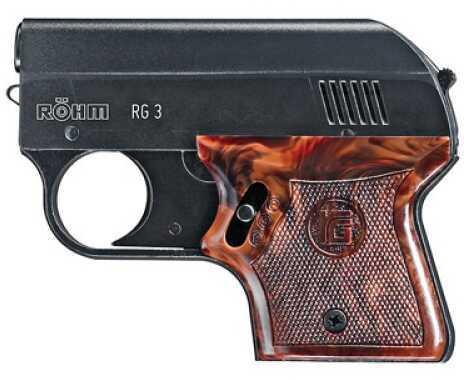 Umarex USA Blank Firing Pistol Rohm RG-3, Black 6mm 2252722