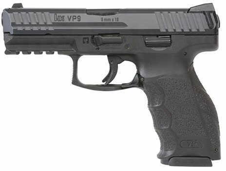"""Heckler & Koch Pistol H&K VP9 9mm 4.09"""" Black 3 Dot Sights 2 10 Round"""