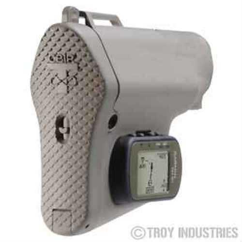 Troy Industries GPS NAV Stock Tan, with GPS SBUT-GPS-00TT-00