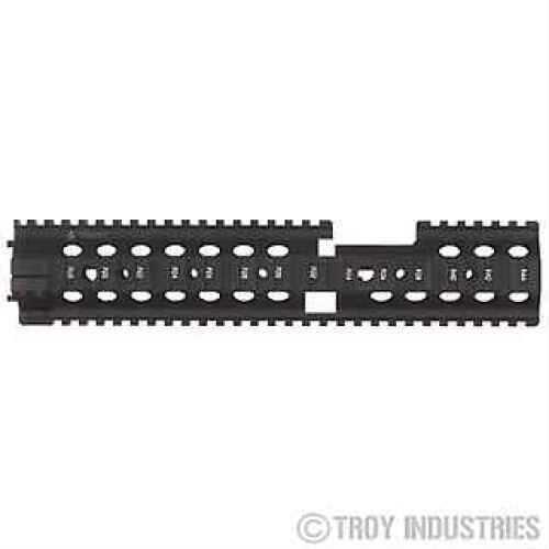 "Troy Industries 12"" MRF-CX Battle Rail Black SRAI-MRF-C2BT-00"