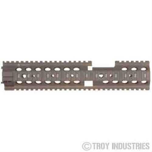 "Troy Industries 12"" MRF-CX Battle Rail Flat Dark Earth SRAI-MRF-C2FT-00"
