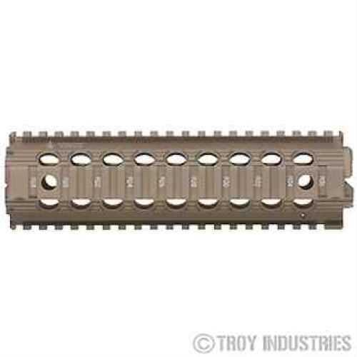 "Troy Industries 9"" Mid-Length Drop-In Rail Flat Dark Earth SRAI-MRF-D9FT-00"
