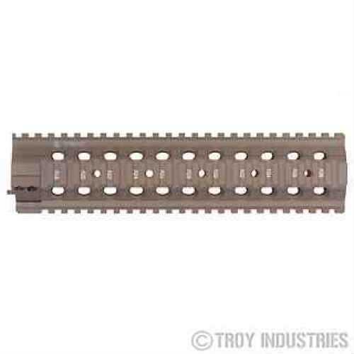 """Troy Industries 10"""" MRF-MX Battle Rail Flat Dark Earth SRAI-MRF-M1FT-00"""