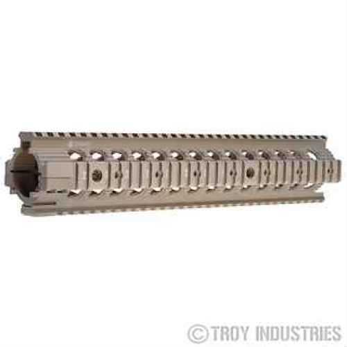"""Troy Industries 12"""" MRF-R Battle Rail Flat Dark Earth SRAI-MRF-R2FT-00"""