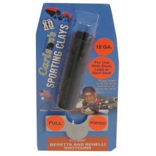 Carlsons Beretta/Benelli Choke Tubes Sporting Clay, Ported, 12 Gauge, Full 15597