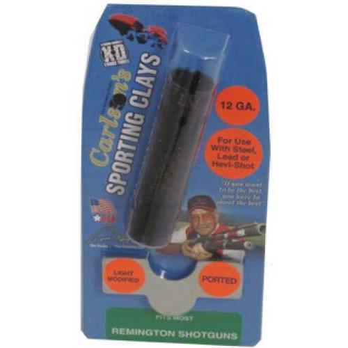Carlsons Remington Sporting Clay Choke Tubes Ported, 12 Gauge, Light Modified 13392