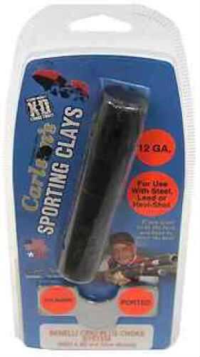 Carlsons Benelli Crio Plus Sporting Clay Choke Tube, 12 Gauge Cylinder, .725 67030