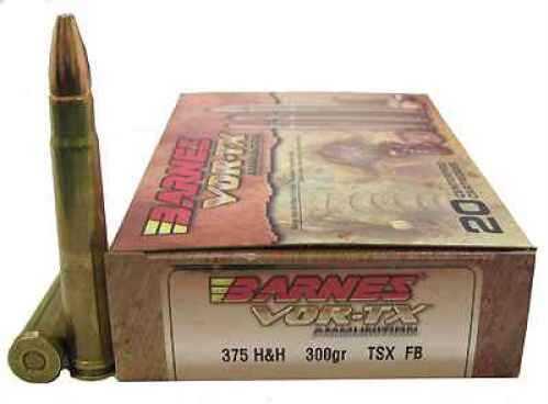 Barnes Bullets VOR-TX 375 H&H Per 20 300 Gr TSX-FB 22014