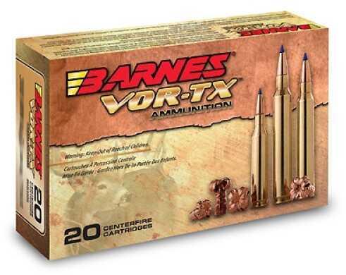 Barnes Bullets VOR-TX 416 Rigby Per 20 400 Gr Banded Solid Round Nose 22035